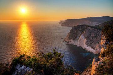 Keri Zakynthos Sonnenuntergang von Dennis van de Water