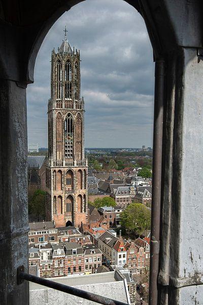 Uniek standpunt op de Domtoren in Utrecht van De Utrechtse Internet Courant (DUIC)