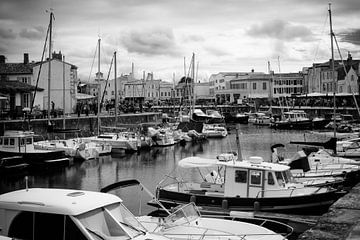 Der Hafen von Saint-Martin-en-Ré von Youri Mahieu