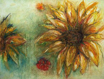 Sonnenblume von Ineke de Rijk