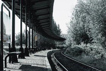 Verlassener Bahnhof von Hoedekenskerke von Eugenlens