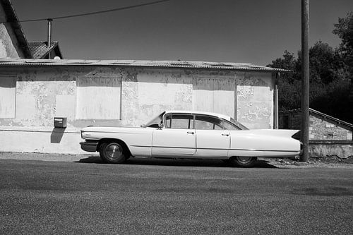 De oude Cadillac... nog steeds een schoonheid van