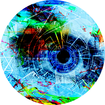 Arithmetic eye van PictureWork - Digital artist