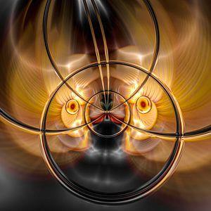 Phantasievolle abstrakte Twirl-Illustration 109/23