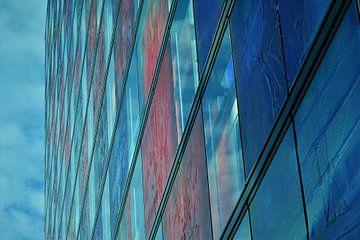 Glaswand 4 van Gerard de Ridder