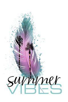 SUMMER VIBES Paradijselijke feestdagen van Melanie Viola