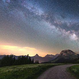 Sommer Nachthimmel von Markus Stauffer
