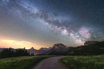 Sommer Nachthimmel