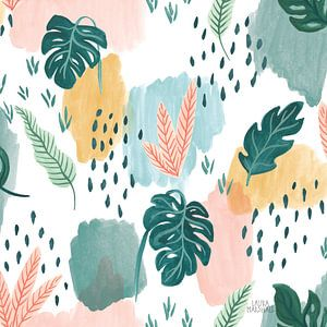 Jungle Hangout Pattern V, Laura Marshall