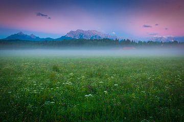 Sommer im Karwendel von Martin Wasilewski
