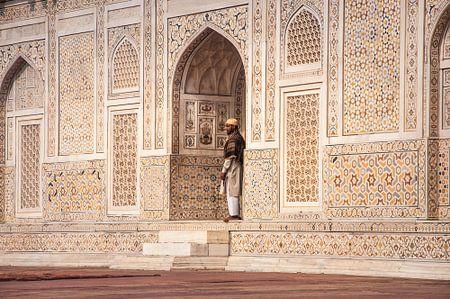 India, Agra, Baby Taj Mahal van Reisverslaafd