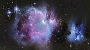 Het grootste nachtwonder; Orion nebula van Bas Witkop