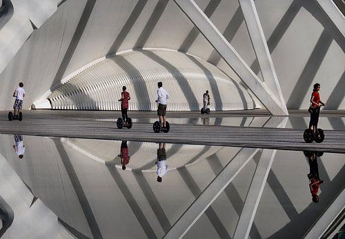 Segways Valencia Calatrava van