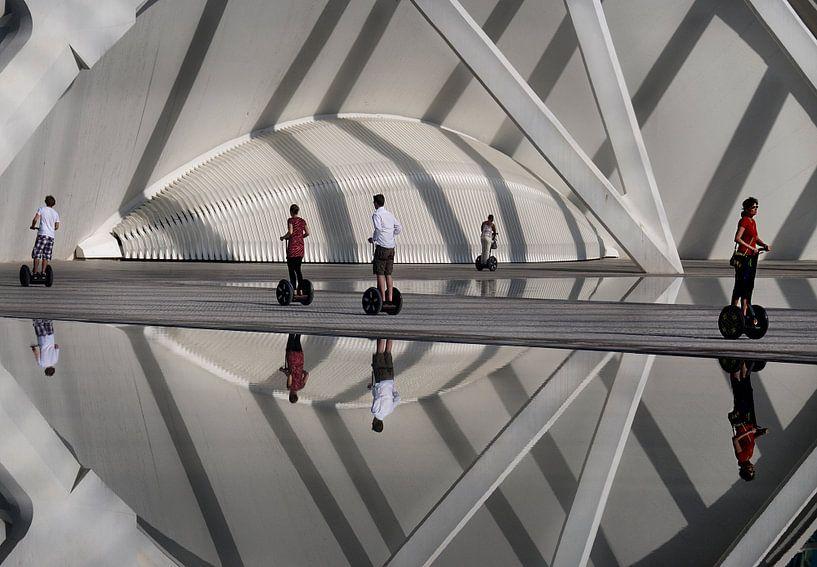 Segways Valencia Calatrava van Marcel van Balken