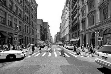 Manhattan Crossroad van Jeroen Middelbeek