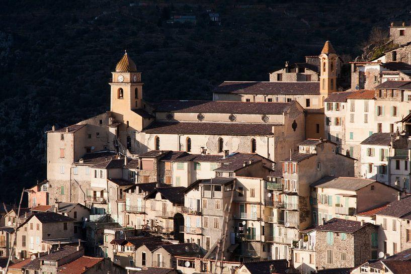 Saorge, dorpje aan de Côte d'Azur in Zuid-Frankrijk van Rosanne Langenberg
