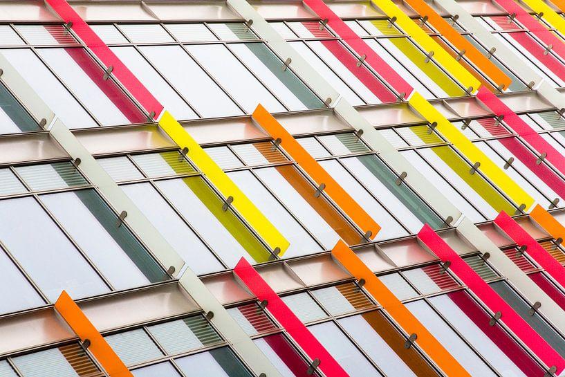 Colorfull abstraction van Frank Diepeveen