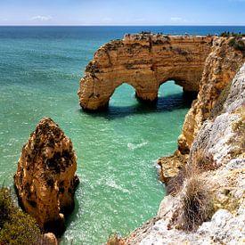Küstenlandschaft an der Algarve von Dirk Rüter