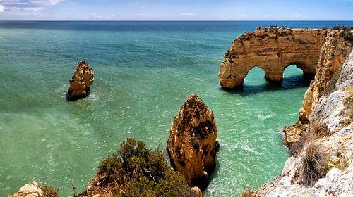 Kustlandschap in de Algarve
