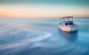 Shipwreck blue style van