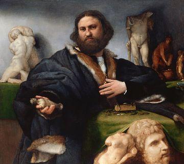 Lorenzo Lotto, Andrea Odoni - 1527 von Atelier Liesjes