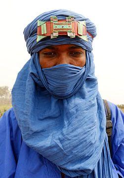 Toeareg of blauwe man uit de Sahara van