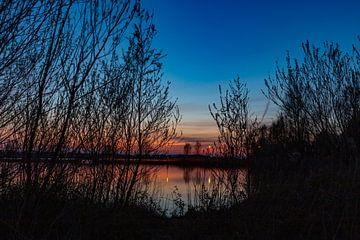 Doorkijkje naar het meer van Foto Danielle