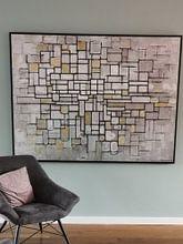 Klantfoto: Piet Mondriaan. No. 11, op canvas