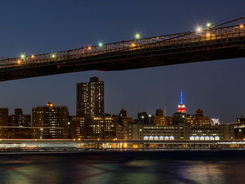 Manhattan Bridge New York van Carina Buchspies