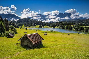 Geroldsee in den Alpen, Deutschland von Bob Slagter