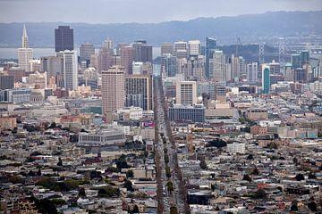 San Francisco, Californië van Peter Schickert