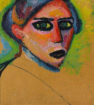 Alexej von Jawlensky~Gezicht van de vrouw