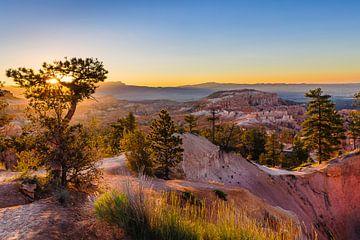 Zonsopgang bij Bryce Canyon van Denis Feiner