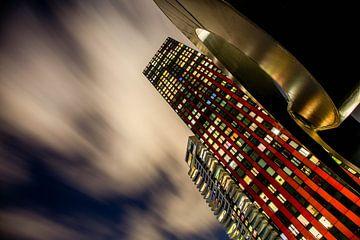 De Rode Appel, Toren in Rotterdam van Dennis Clarisse