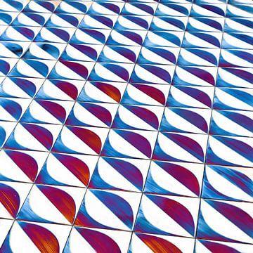 Formes géométriques abstraites sur Maurice Dawson
