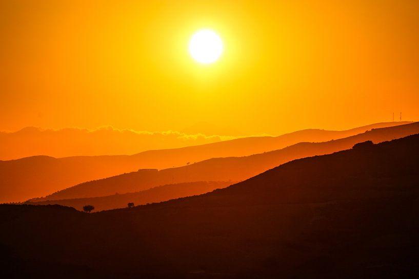 Sunrise Kreta  van Thomas Paardekooper