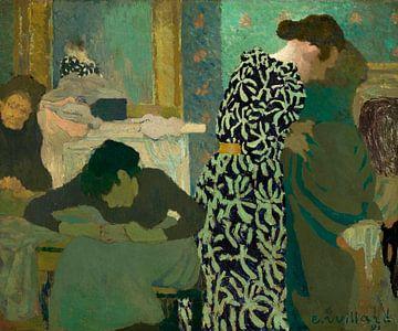 Das geblümte Kleid, Édouard Vuillard