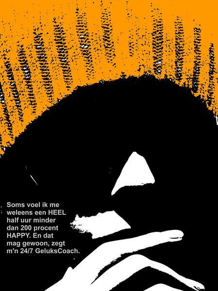 Dolende Dertigers: Niet Helemaal Happy! van MoArt (Maurice Heuts)
