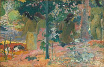 De baders, Paul Gauguin
