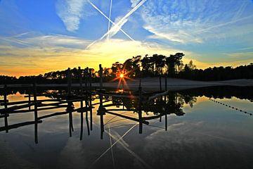 Sunset sky van Ying Chen
