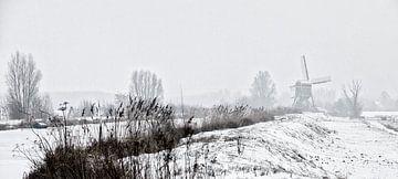 Winter in Holland2 van Henk Leijen