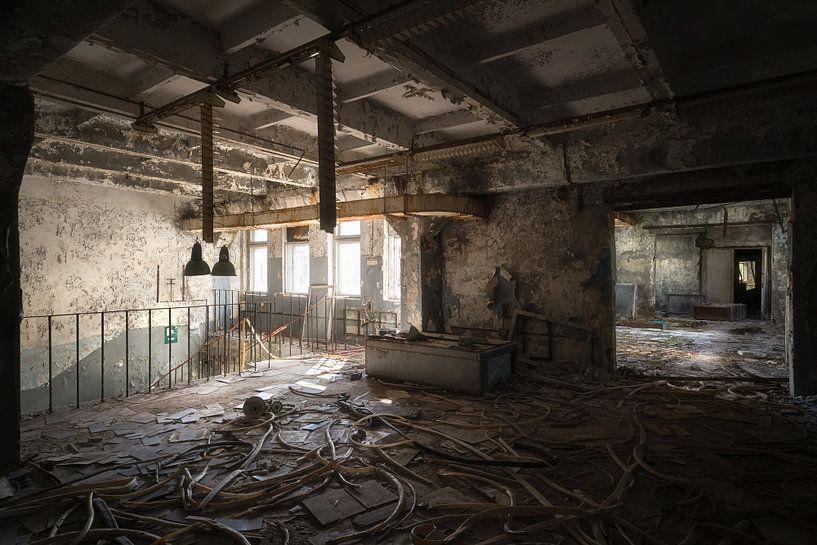 Verlassenes Duga Control Building. von Roman Robroek