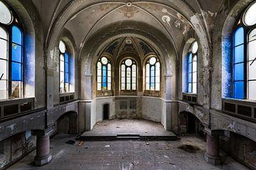 Blaue Kirche von Perry Wiertz