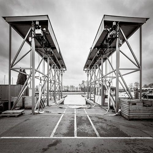 Botenlift voor zeil- en motorjachten