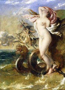 William Etty, Andromeda - Perseus kommt ihr zu Hilfe - 1840