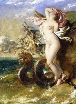 William Etty, Andromeda - Perseus kommt ihr zu Hilfe - 1840 von Atelier Liesjes