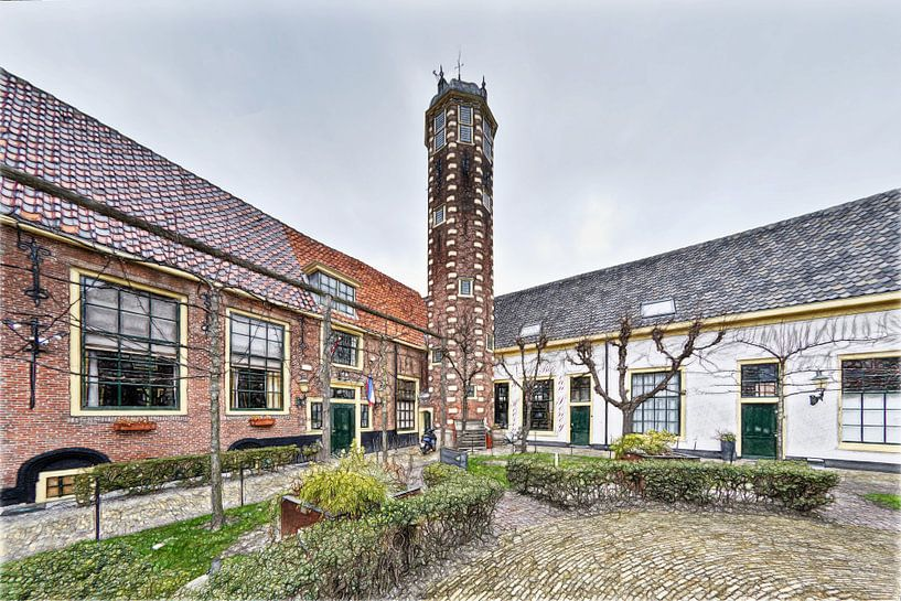 Hof van Sonoy, Alkmaar van Mike Bing