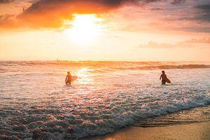 Berawa surfers van Andy Troy