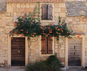 Maison à l'île de la Méditerranée sur Nina Rotim