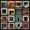 Collage van authentieke Franse etalages. van Gert van Santen thumbnail
